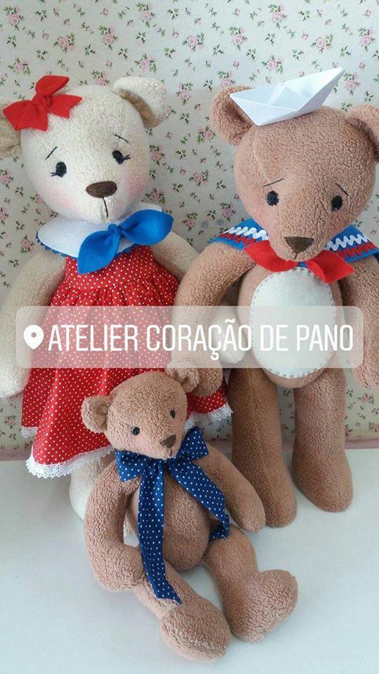 Projeto Digital - Família Ursos Marinheiros