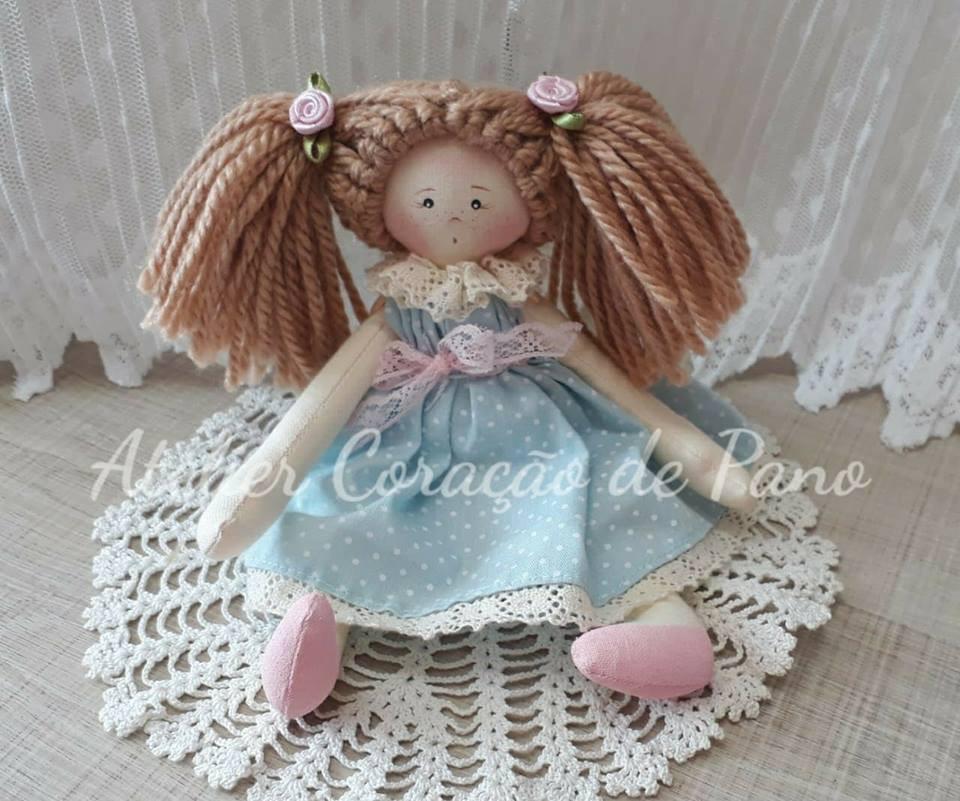 PROJETO DIGITAL Mini Boneca Nanda