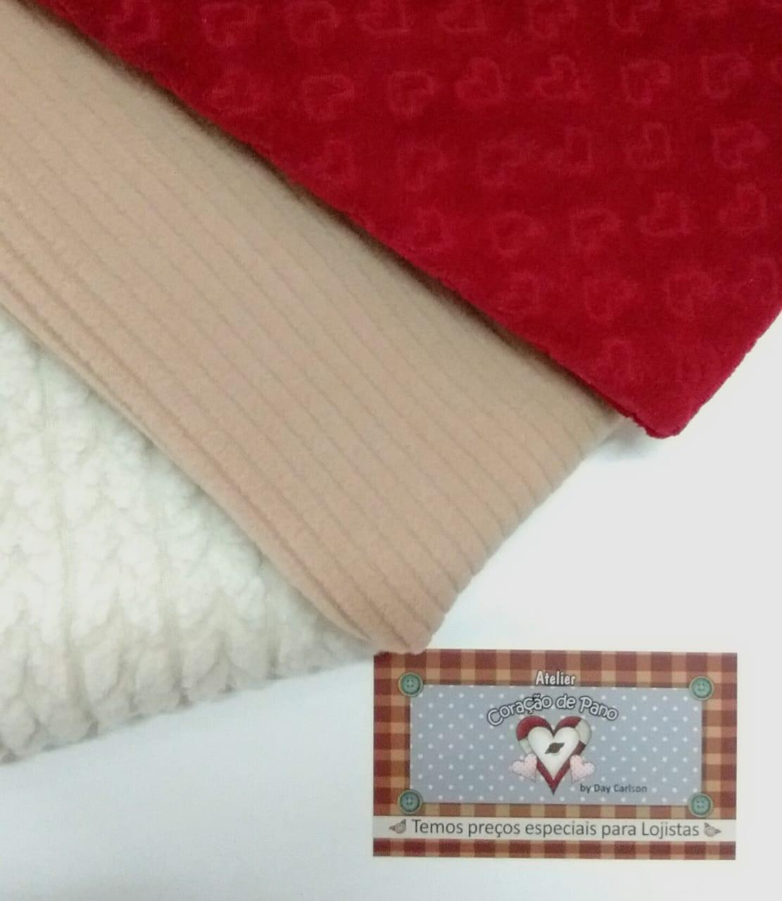 Kit Tecidos Especiais - 3 cortes