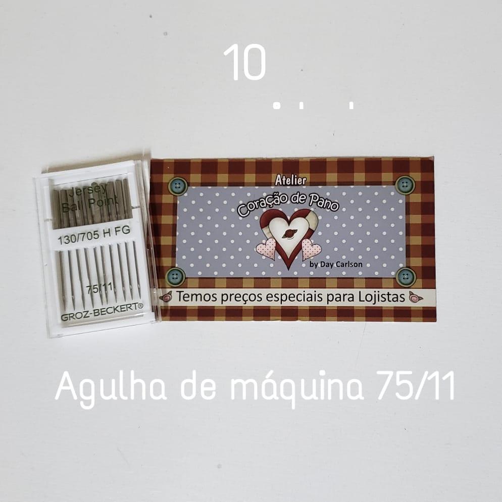 Agulhas para Máquina Importada - 75/11