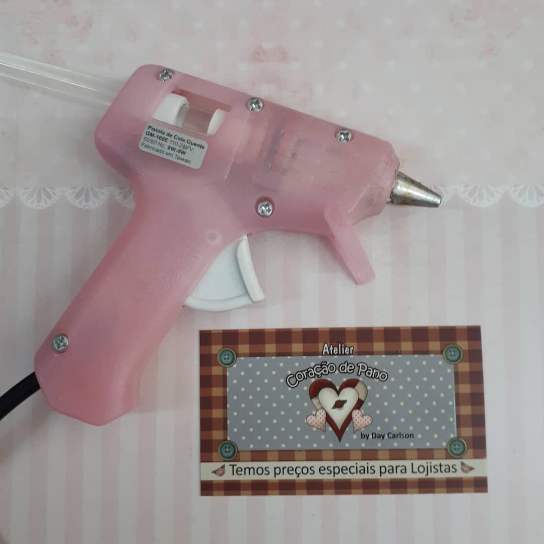 Mini Pistola Para Cola Quente - não pinga