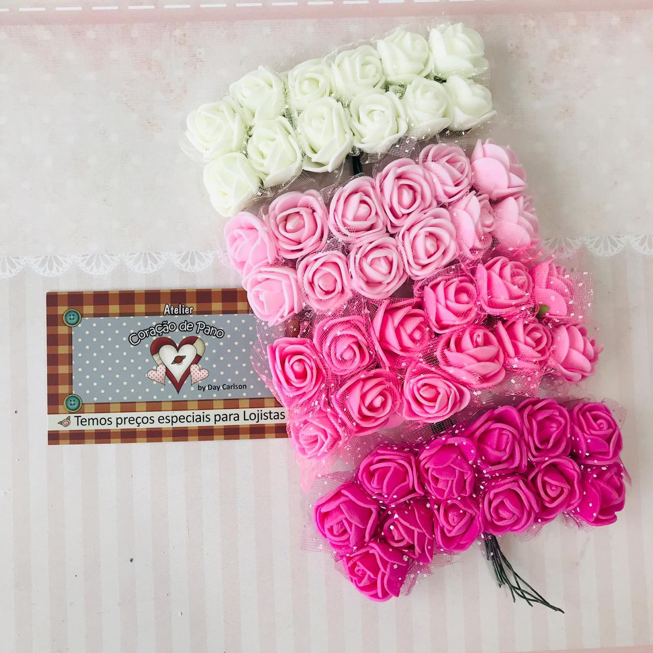 4 Bouquet's de Flores de EVA - 4 cores