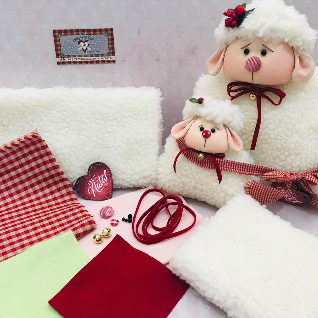 Kit de Material Ovelhinhas de Natal (SEM PROJETO)