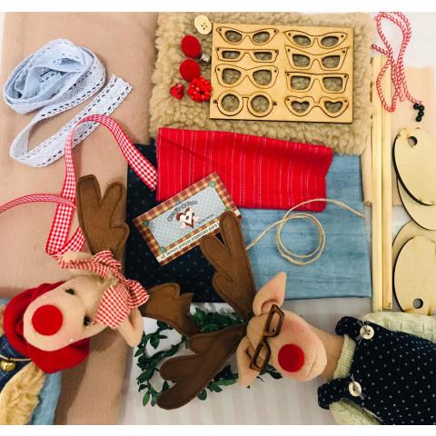 Kit de Material Casal de Renas (SEM PROJETO)