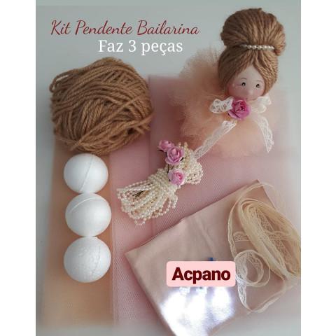 KIT de Material 3 Bailarinas (Pendentes)