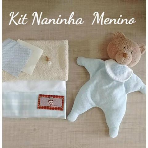 Kit - Material para Naninha Menino com Projeto