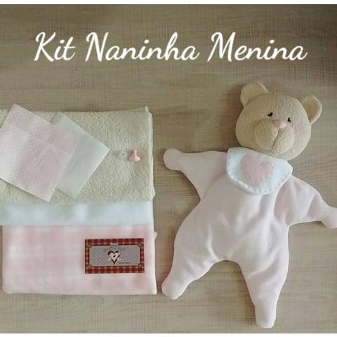 Kit - Material para Naninha Menina com Projeto