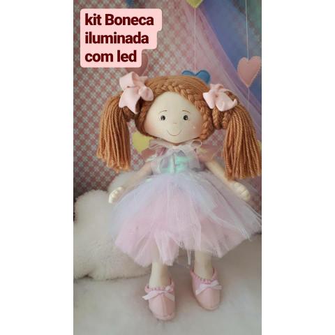 Boneca Iluminada -Kit de Materiais SEM PROJETO