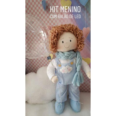Boneco Iluminada com Balão -Kit de Materiais e Projeto
