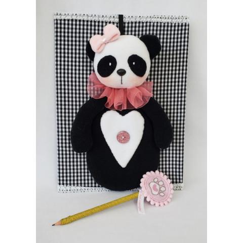 Projeto Digital - Estojo Panda