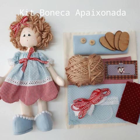 Kit - Boneca Apaixonada (Projeto e Material)