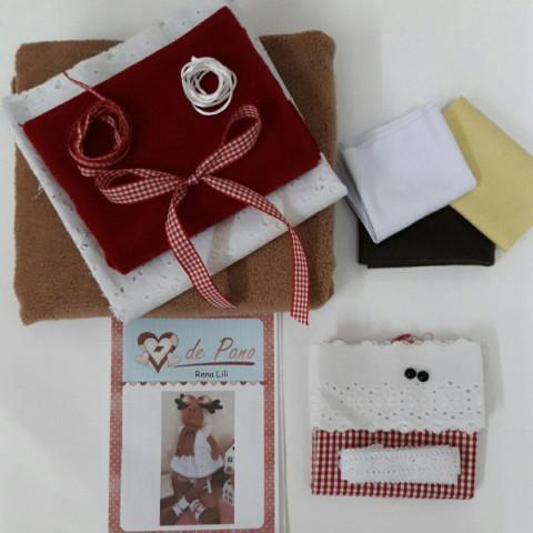 Kit - Rena Lili (material e projeto)