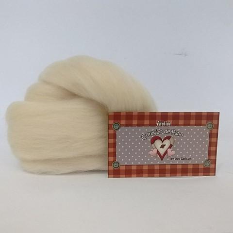 Lã de Feltragem - Crua Natural LF01