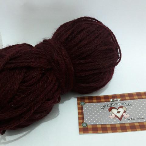 Lã Multiuso - Vermelha Escuro