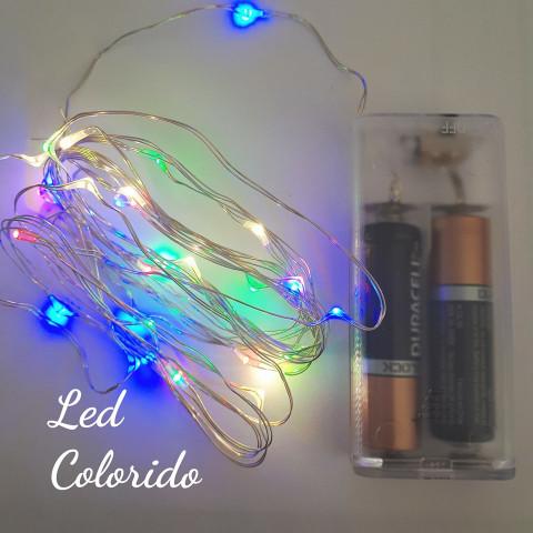 Led Colorido- 2mts