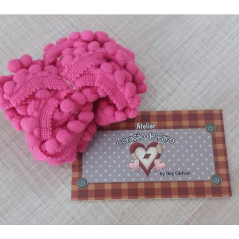 Mini Pompom (grelot) - Rosa Pink
