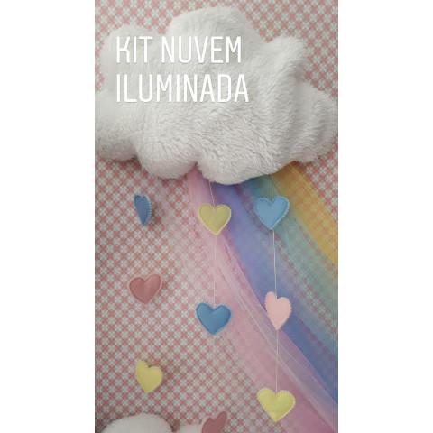 Nuvem Iluminada -Kit de Materiais e Projeto
