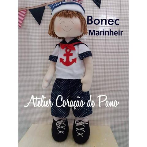 PROJETO Boneco Marinheiro - via correio