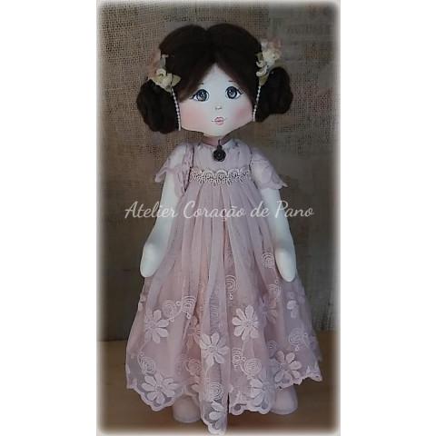 Projeto Digital - Boneca Vintage Elizabeth