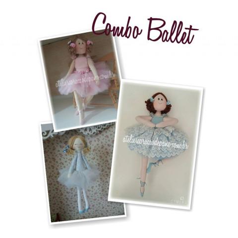 Projeto Digital - Combo 3 projetos - Ballet (download)