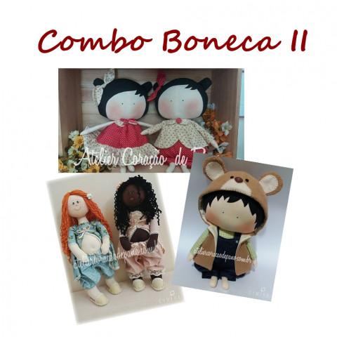 Projeto Digital - Combo 3 projetos - Boneca II