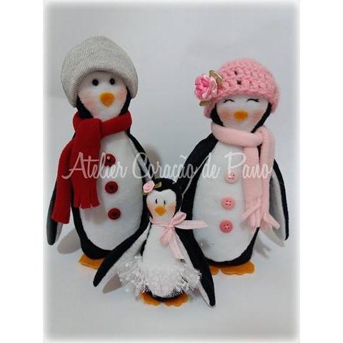 Projeto Digital - Família Pinguim