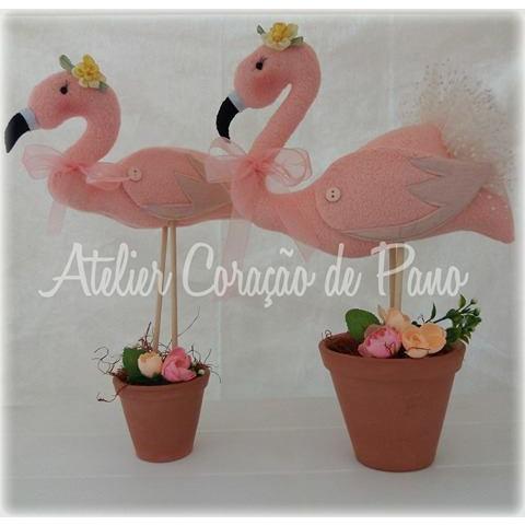 Projeto Via Correio - Flamingos