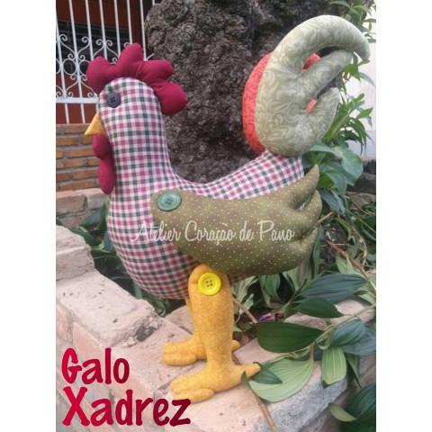PROJETO Galo Xadrez (via Correios)