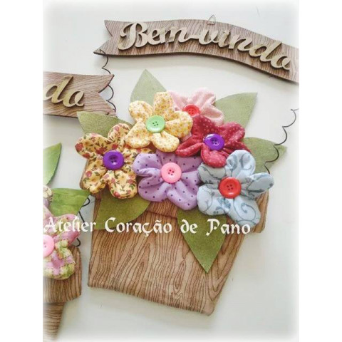 Projeto Vaso de Flores Bem Vindo (via Correios)