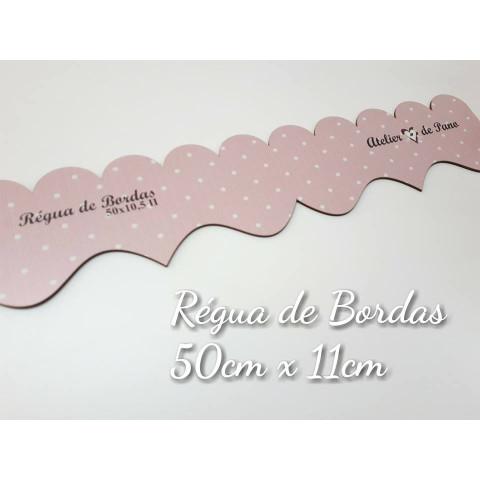 RÉGUA DE BORDAS E BABADOS II - BABADINHOS
