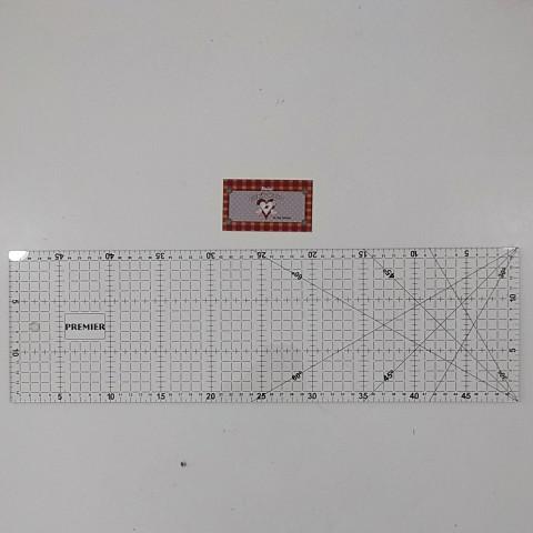 Régua para Patchwork 15 x 50 cm