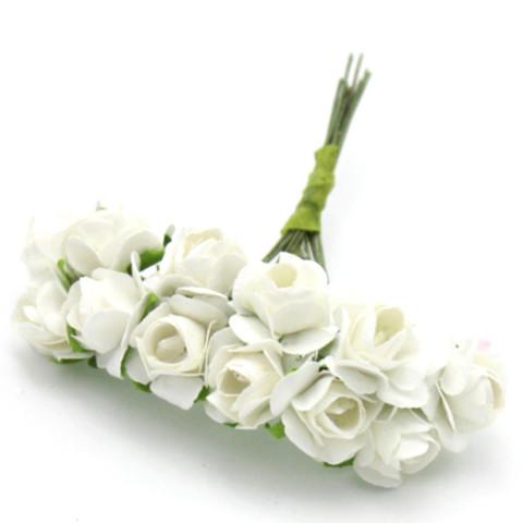 Rosas de Papel - Branca