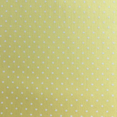 Tecido Estampado - 0,50cm x 1,4cm - Póa Amarelo