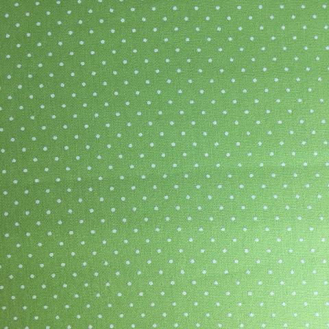 Tecido Estampado - 0,50cm x 1,4cm - Póa Verde