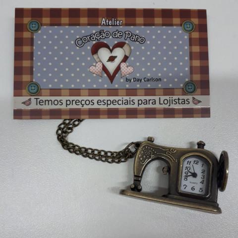 Colar de Máquina Relógio