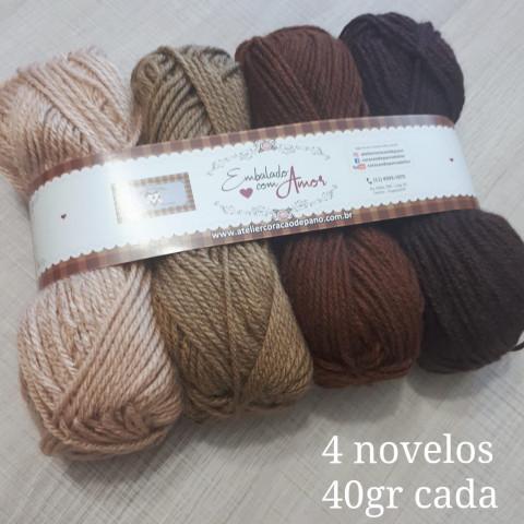 Lã Multiuso - 4 novelos (40g)