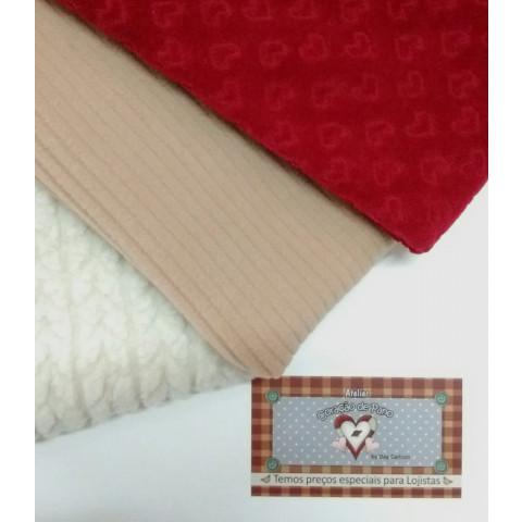 Kit Natalino Tecidos Especiais - 3 cortes