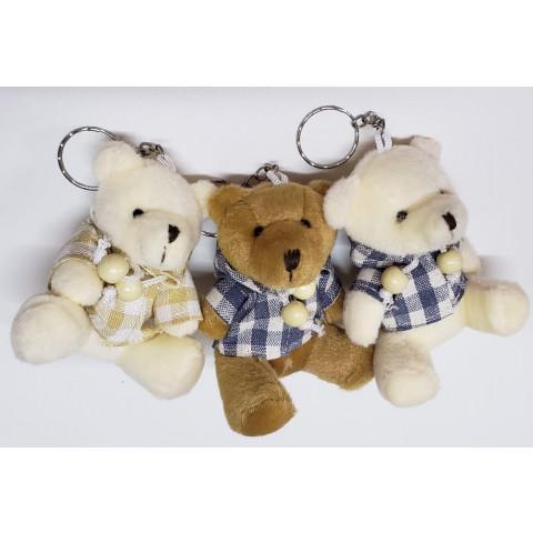 3 Ursos Grandes com Roupinha (7 x 8 cm)