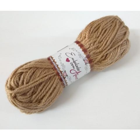 Lã Multiuso VI - CASTANHO CLARO (40g)