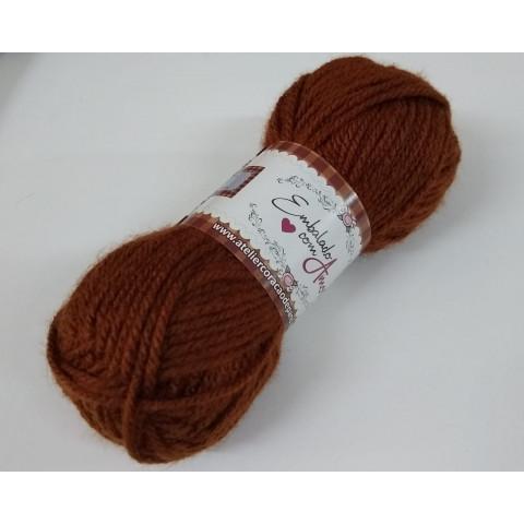 Lã Multiuso III - Castanho (40g)