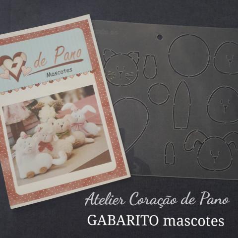 GABARITO DE MASCOTES