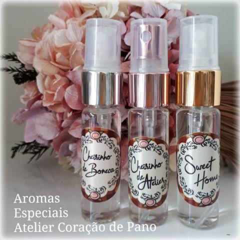 COMBO 3 CHEIRINHOS ESPECIAIS -  Essências Boneca, Atelier e Sweet Home