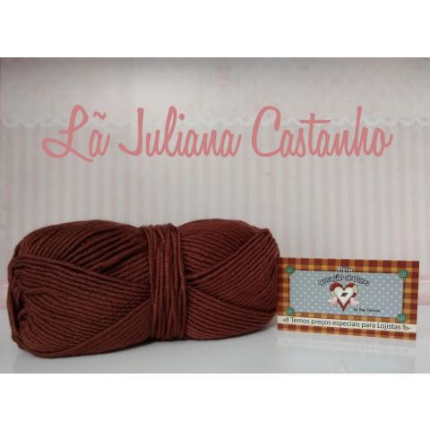 Lã Especial Juliana II - Castanho