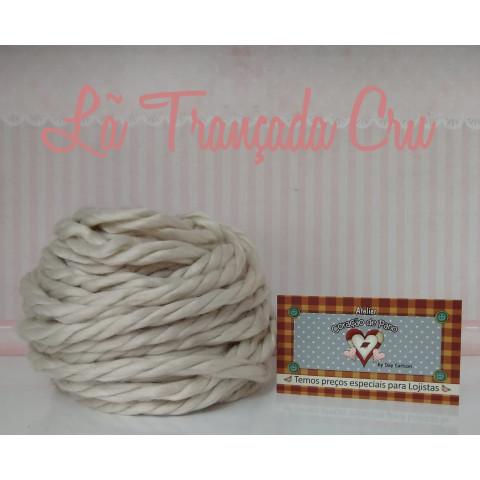 Lã Trançada VI - Crua