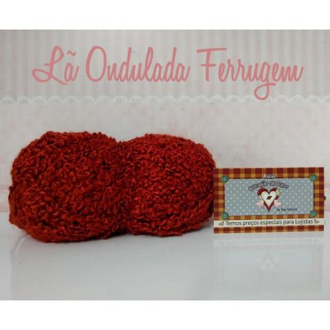 Lã Multiuso Ondulada II - Ferrugem