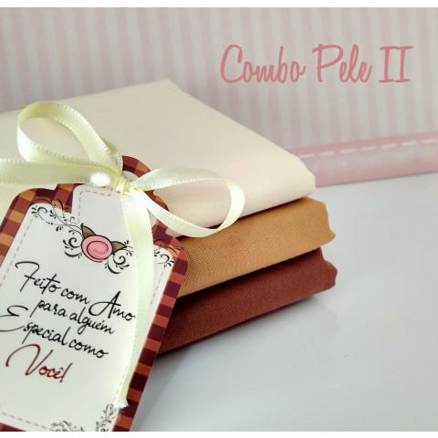 COMBO PELE II - 3 CORTES (50 X 160 CM CADA)