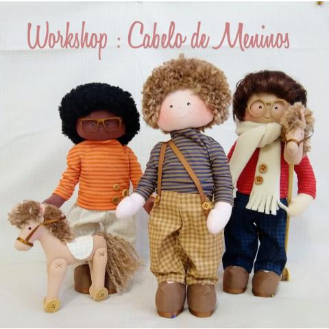 WORK ONLINE - CABELO DE MENINOS