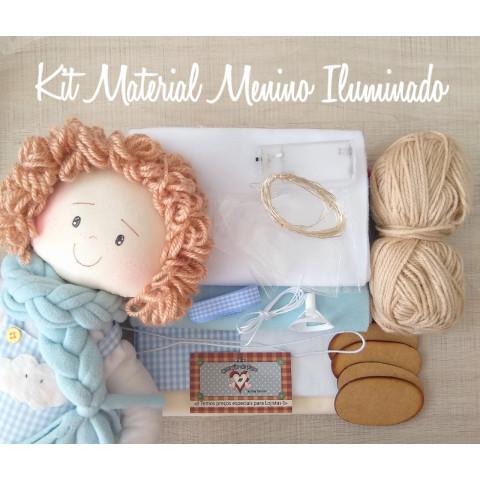 KIT MATERIAL - BONECO ILUMINADO (COM PROJETO)