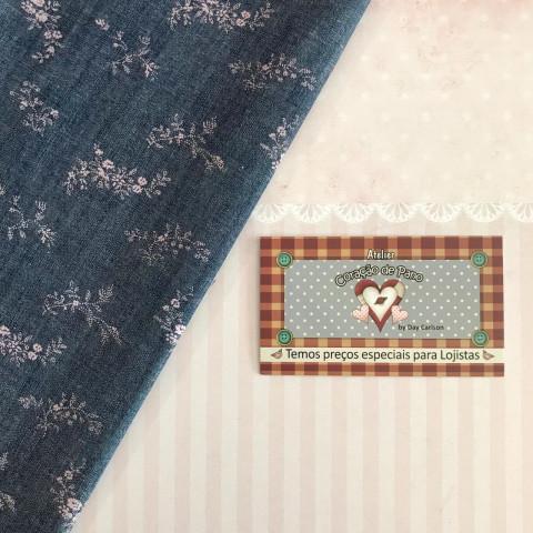 Jeans JS02 - Flores Rosa