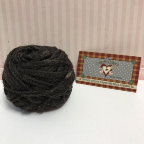 Lã de Feltragem em Fio VI - Grisalho